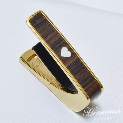 "Thalia Capo Limited Edition 24K Gold with Indian Rosewood ""Heart MOP"" Inlay"